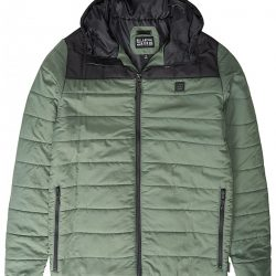 Billabong Puff Jacket Green/Black