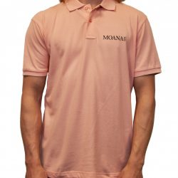 Moana Six Polo Zalm