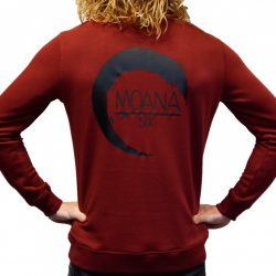 Moana Six Sweater Bordeaux Unisex
