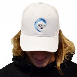 Moana Six Cap White Dad Hat