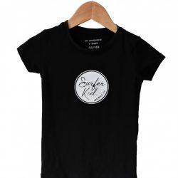 Surferkid T-shirt Zwart