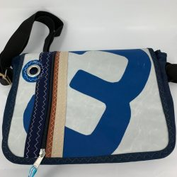 Mills Messengerbag L Blue3
