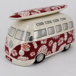 Spaarpot Surfbus Leafs Red