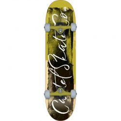Cartel 8.25 Complete Skateboard Yellow