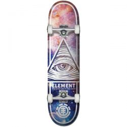 "Element Eye Tripping 8"" Complete Skateboard"