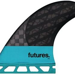Future Fins F4 Blackstix Size Small Turquoise