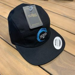 Jockey Cap Black Moana-Six