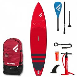 Fanatic Ray Air Pure 11'6 RED Package