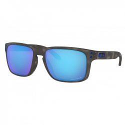 Oakley Holbrook Matte Black Tortoise Prizm Sapphire Polarized