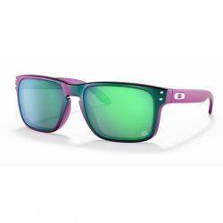 Oakley Holbrook Matte Purple Green Shift  – Troy Lee Designs